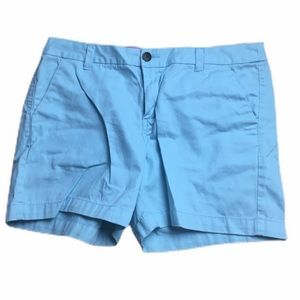 "Merona Light Blue Cotton Chino 5"" Casual Shorts"